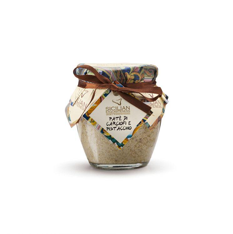 sizilianisches Pesto Pate, pesto,DAIDONE Sicilian Exquisiteness Artischocke und Pistazie
